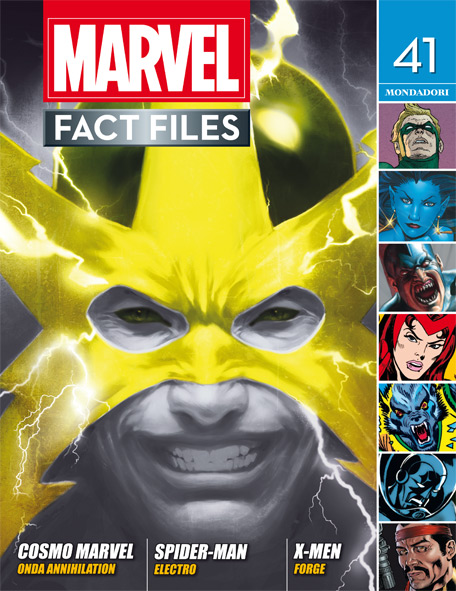 Marvel Fact Files n.22