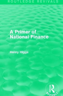 A Primer of National Finance