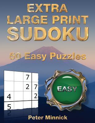 Extra Large Print Sudoku 9 X 9