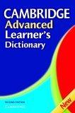 Cambridge Advanced Learner's Dictionary, Second Edition