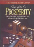 Thoughts on Prosperity