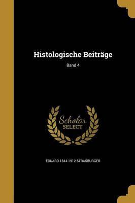 GER-HISTOLOGISCHE BEITRAGE BAN