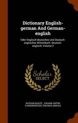 Dictionary English-German and German-English
