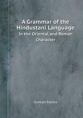 A Grammar of the Hin...