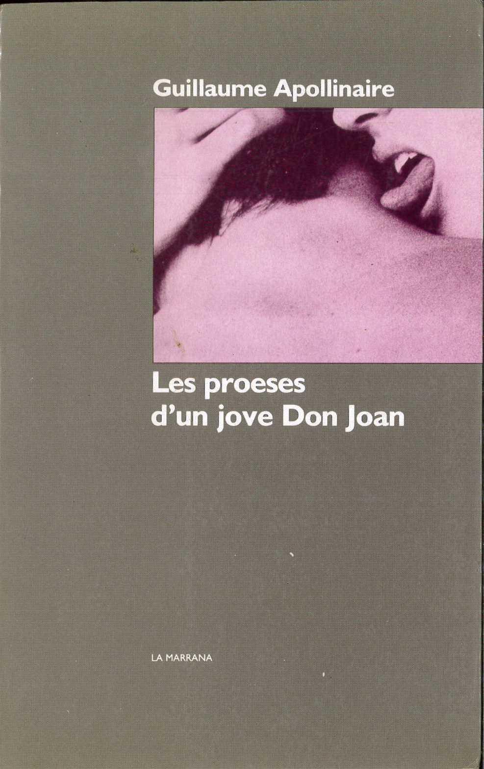 Les proeses d'un jove don Joan
