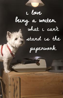 Journal I Love Being a Writer, Cute Dog