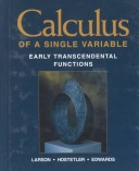 Calculus of a Single Variable Early Transcendental Functions