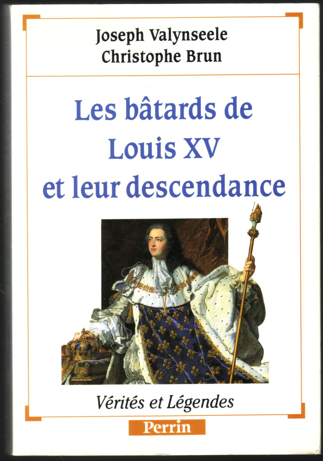 Les bâtards de Louis XV et leur descendance
