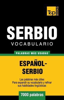 Vocabulario español-serbio - 7000 palabras más usadas