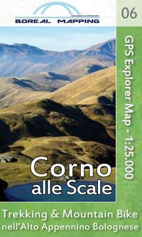 Corno alle Scale. Trekking & Mountain Bike nell'alto Appennino bolognese. Carta topografica per escursionisti 1