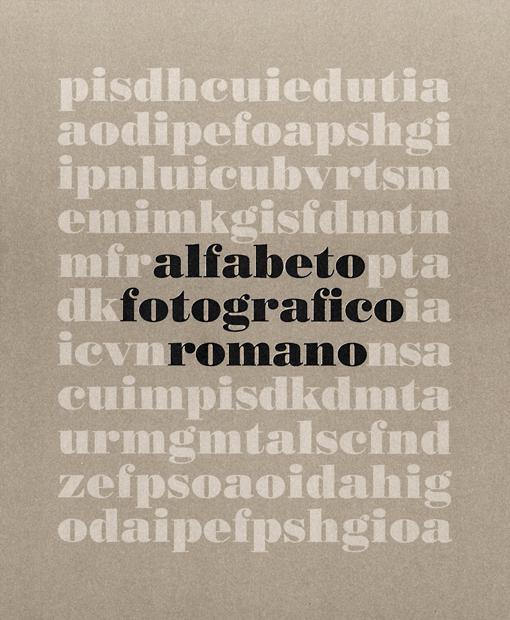 Alfabeto fotografico romano