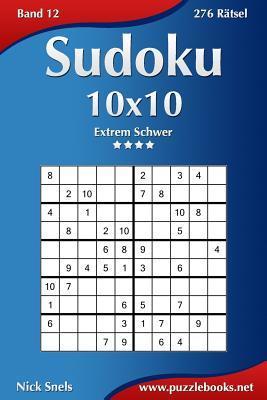 Sudoku 10x10 - Extrem Schwer - 276 Ratsel