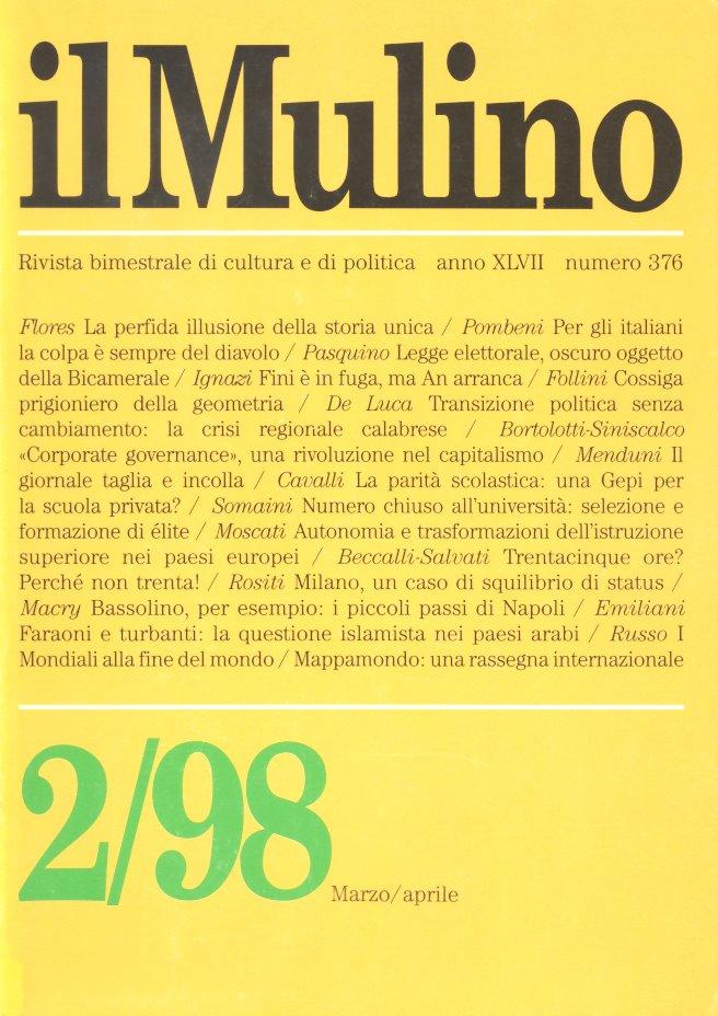il Mulino 2/98