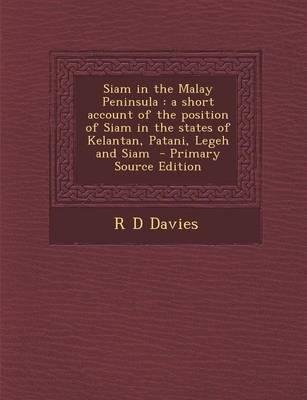Siam in the Malay Peninsula