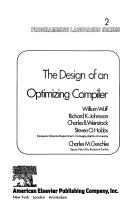 The Design of an optimizing compiler