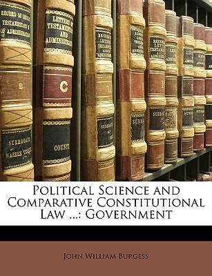 Political Science and Comparative Constitutional Law .