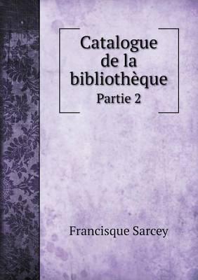 Catalogue de La Bibliotheque Partie 2