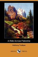 A Ride Across Palestine (Dodo Press)