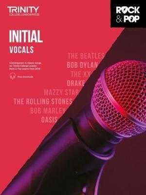 Trinity College London Rock & Pop 2018 Vocals Initial Grade
