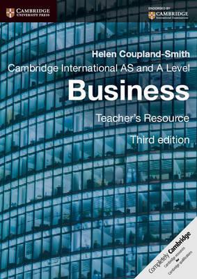Cambridge International AS and A Level Business. Teacher's Resource. CD-ROM