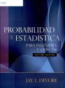 Probabilidad y estadística para ingeniería y ciencias
