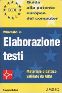 ECDL - Modulo 3 - El...