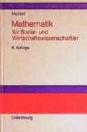 Mathematik für Sozial- und Wirtschaftswissenschaftler