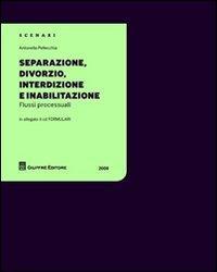 Separazione, divorzio, interdizione e inabilitazione. Con CD-ROM