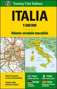 Italia Atlante stradale tascabile 1