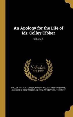 APOLOGY FOR THE LIFE OF MR COL
