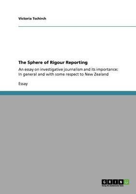The Sphere of Rigour Reporting