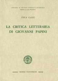 La critica letteraria di Giovanni Papini
