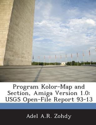 Program Kolor-Map and Section, Amiga Version 1.0