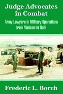 Judge Advocates In Combat