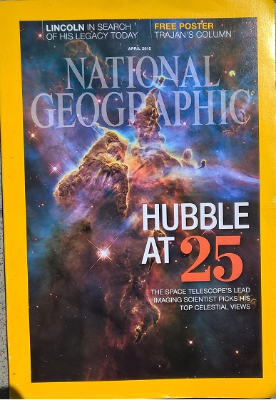 National Geographic, April 2015