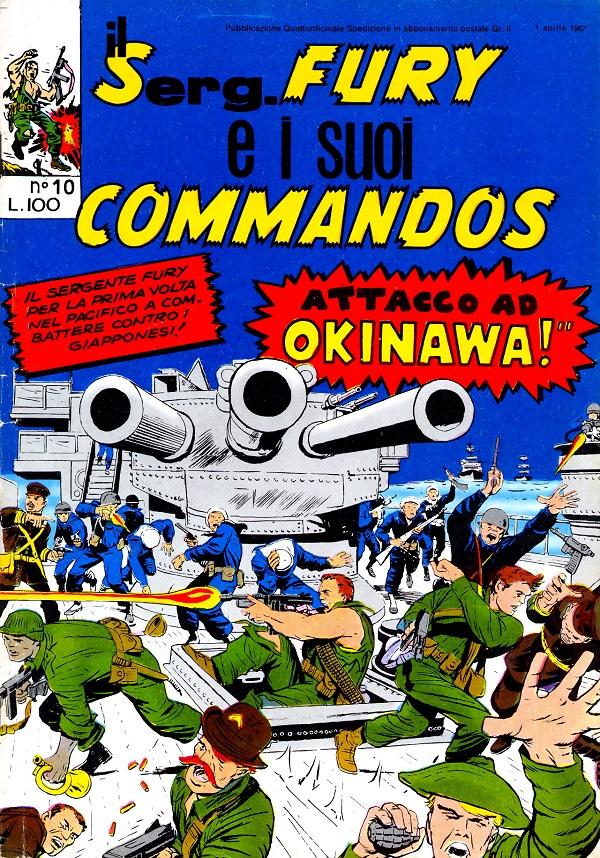 Il serg. Fury e i suoi commandos n. 10