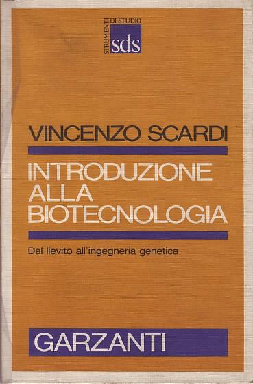 Introduzione alla biotecnologia