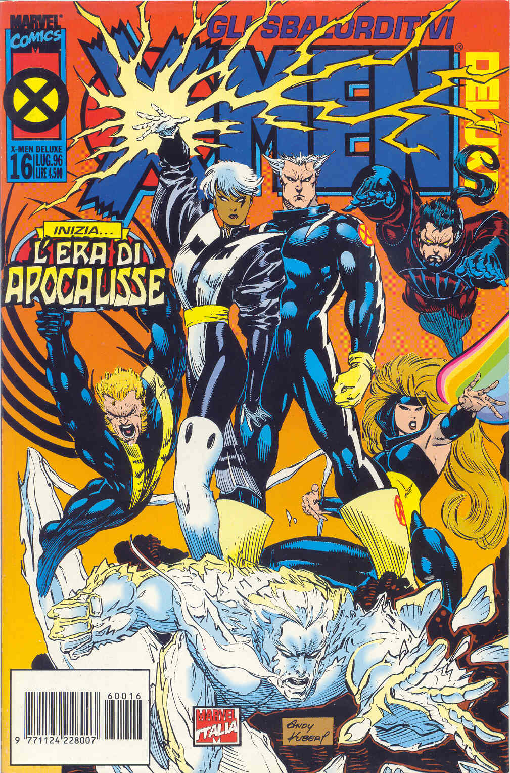 X-Men Deluxe n. 016