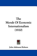 The Morals of Economic Internationalism (1920)