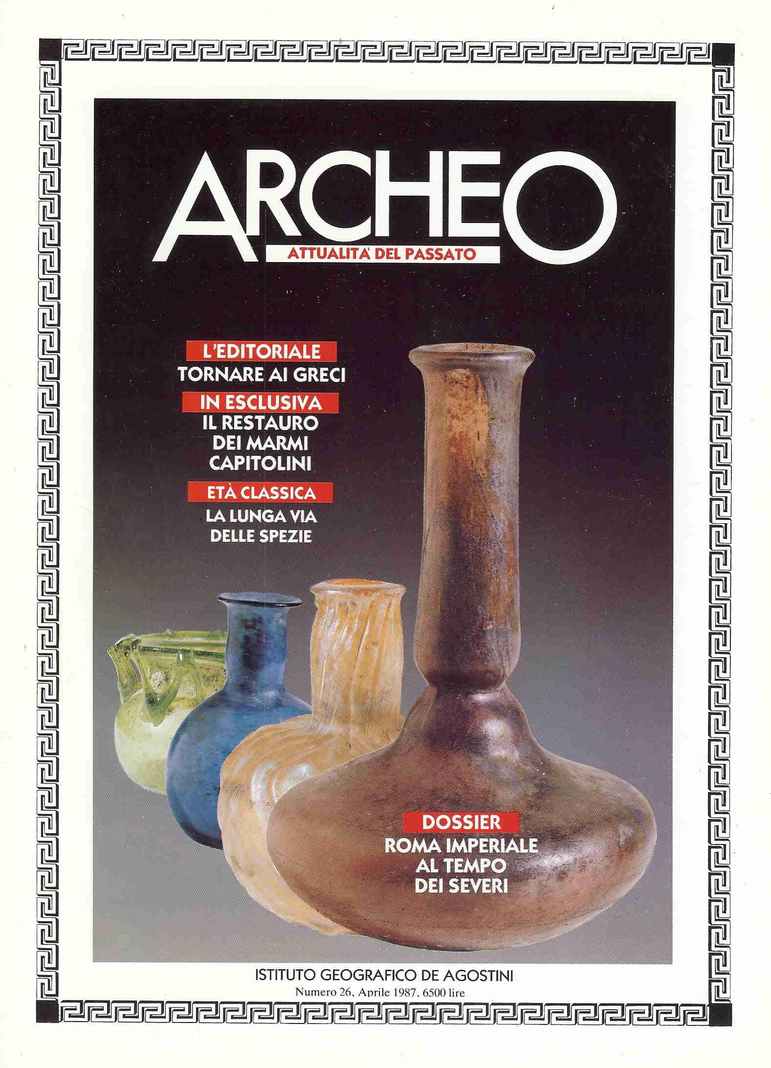 Archeo, attualità del passato n.26