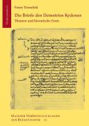 Die Briefe des Demetrios Kydones
