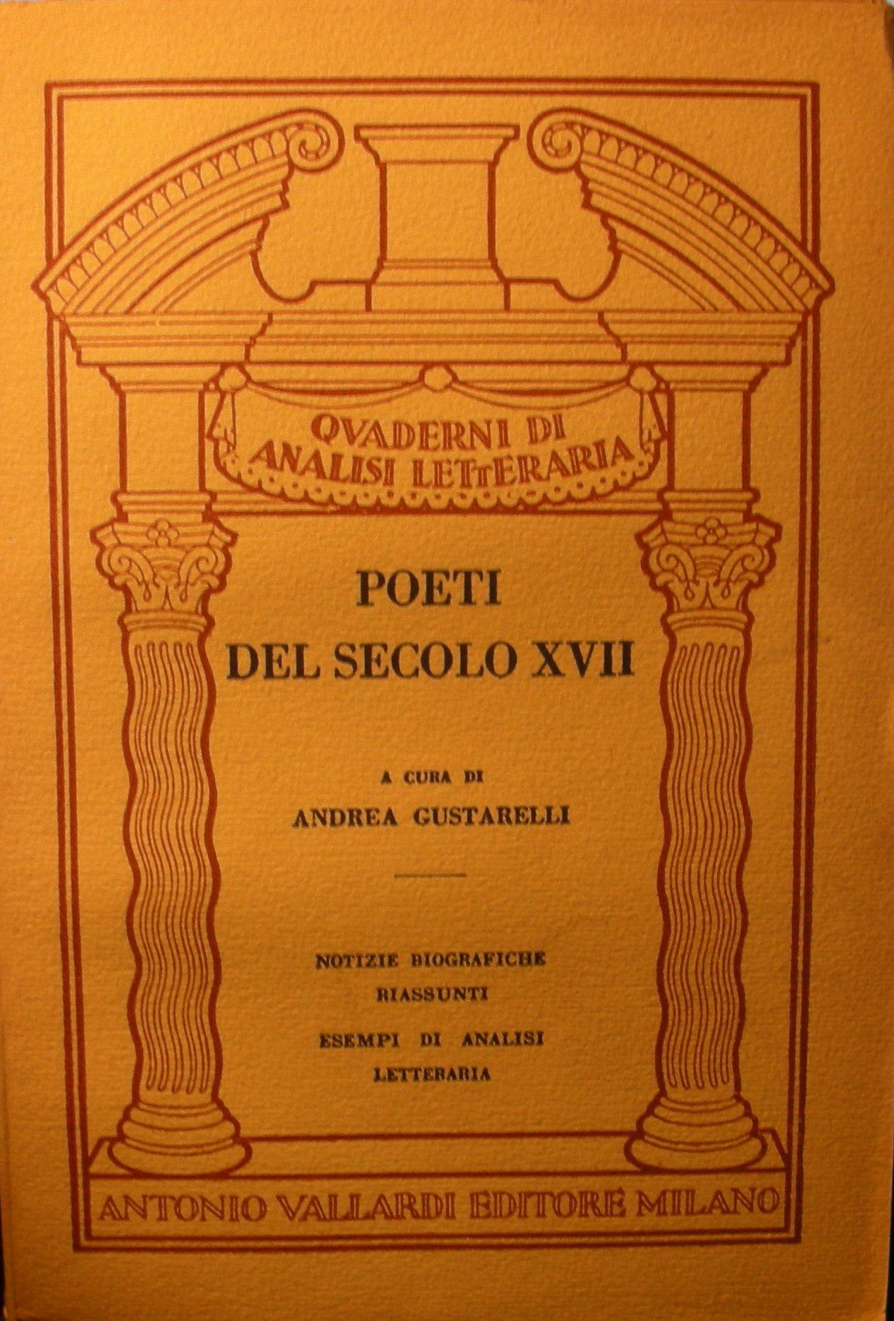 Poeti del secolo XVII