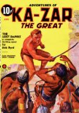 Ka-Zar, The Great - June 1937