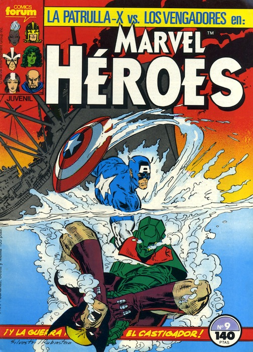 Marvel Héroes #9 (d...