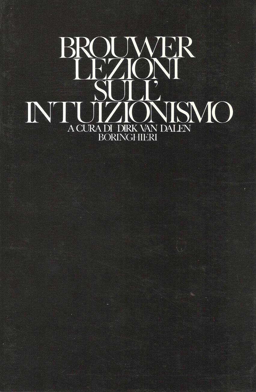 Lezioni sull'intuizionismo