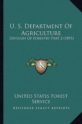 U. S. Department of ...