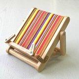 Stripy Wooden Mini Bookchair