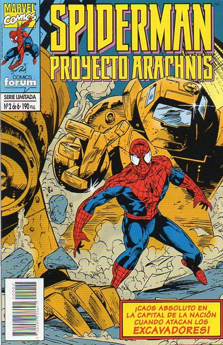 Spiderman: Proyecto Arachnis #2 (de 6)