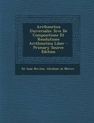 Arithmetica Universalis