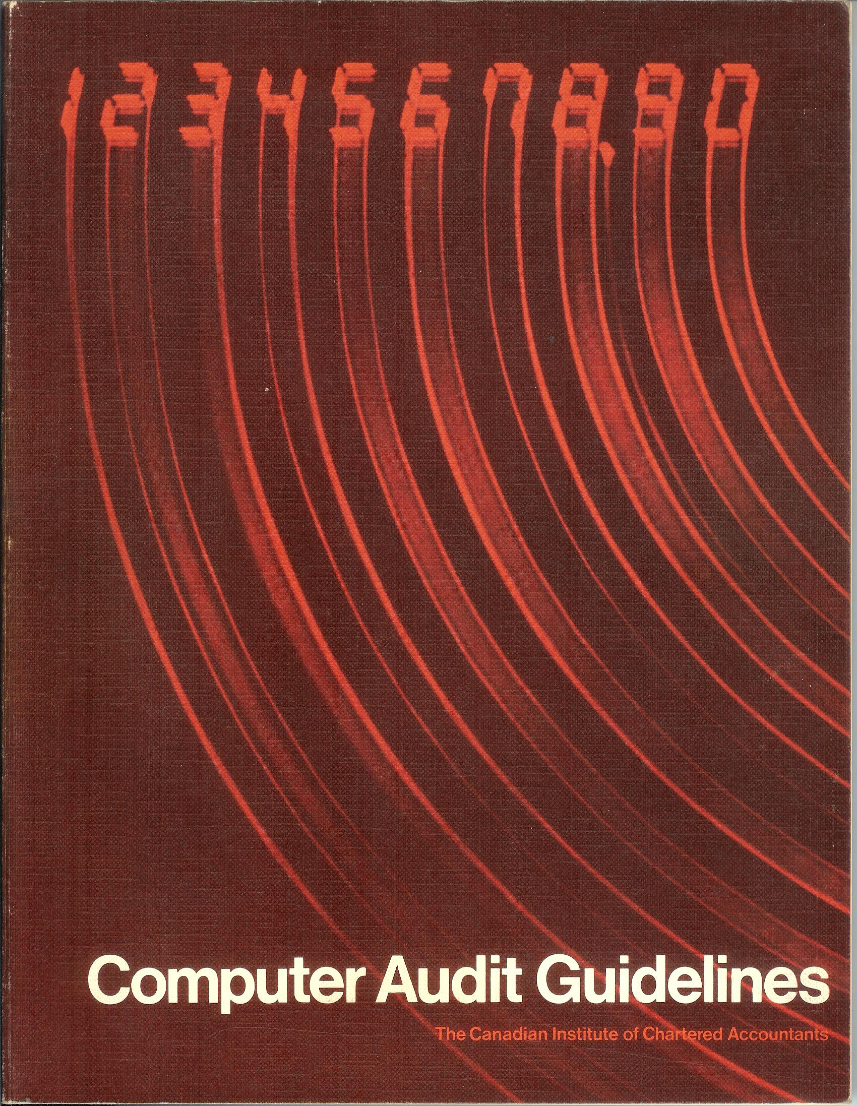 Computer control and audit guidelines